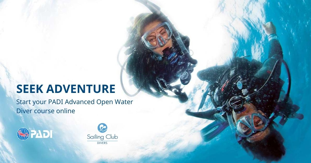 PADI eLearning Advanced Open Water Course Sailing Club Divers Nha Trang Vietnam