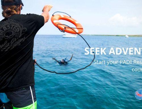 PADI eLearning Rescue Diver course
